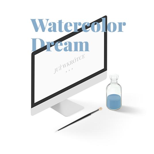 Zaproszenia ślubne - motyw Watercolor Dream